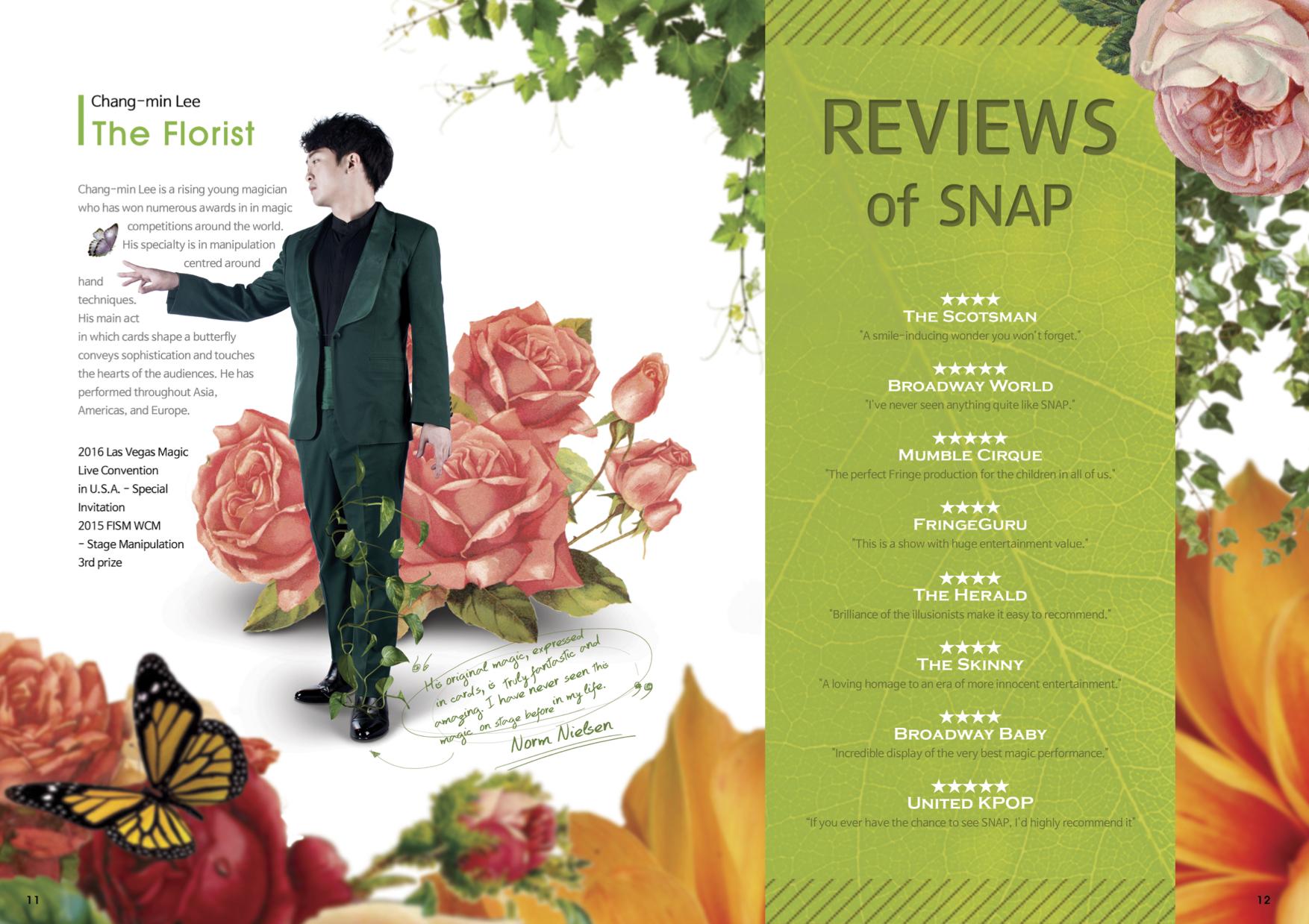 SNAP - Robin Klinger Entertainment